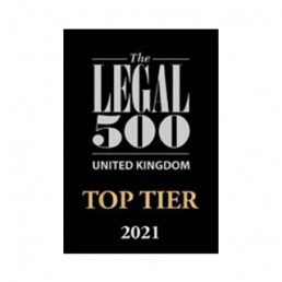 Fenchurch Law Legal 500 top tier 2021