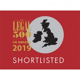 Fenchurch Law The Legal 500 shortlist