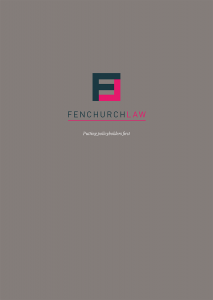 Image of Fenchurch Law Brochure Cover
