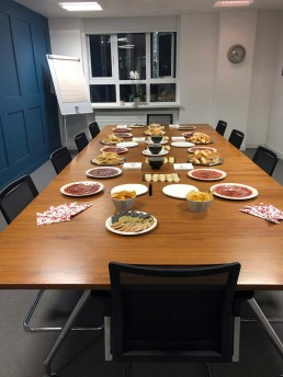 Fenchurch Law office buffet